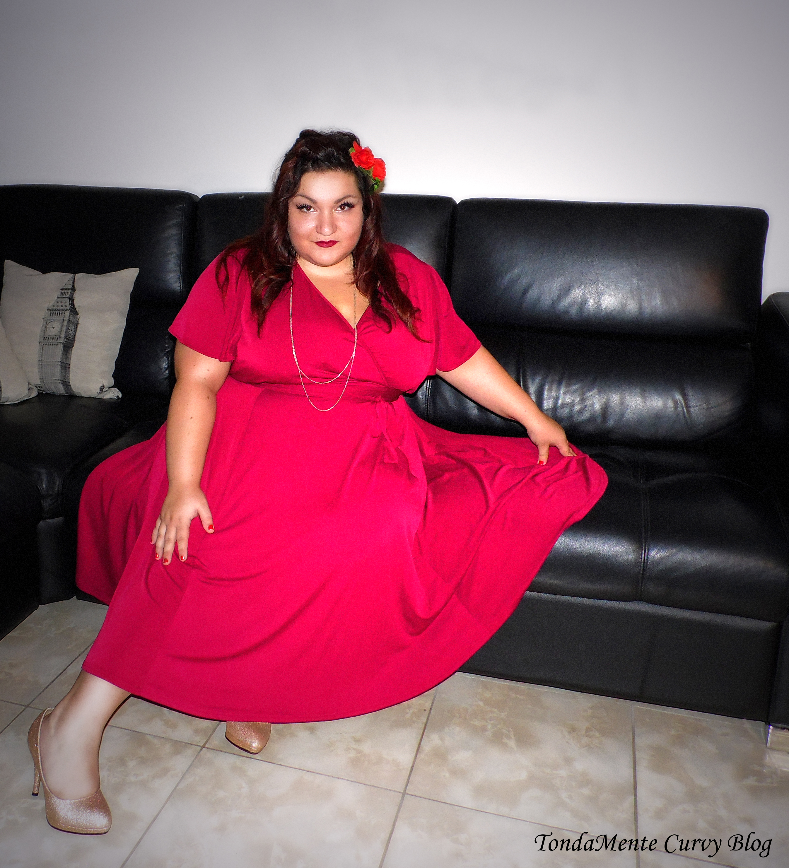 curvy plus size fashion blogger - curvy blog italia