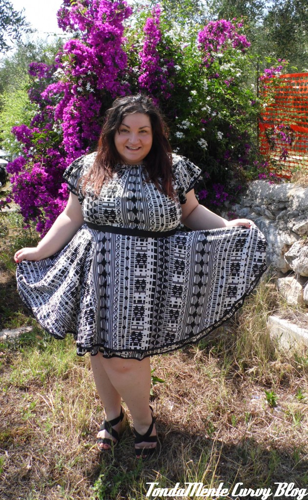 collaborazione curvy plus size fashion blogger